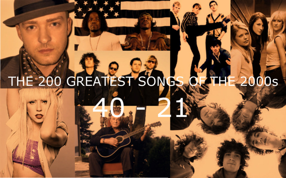 The 200 Greatest Songs Of The 2000s (40-21) – HIDDEN UNDER HEADPHONES